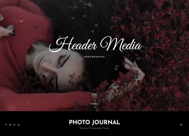 photo journal, WordPress Theme for Photographers