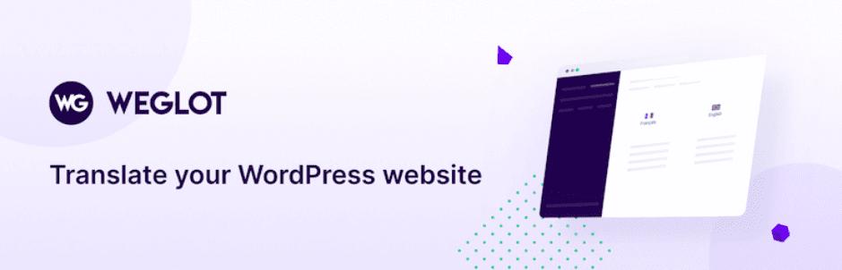 Translate WordPress – Weglot Translate