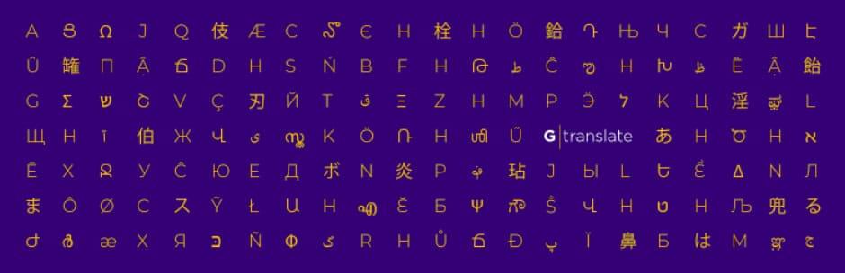 gTranslate - multilingual translation plugin