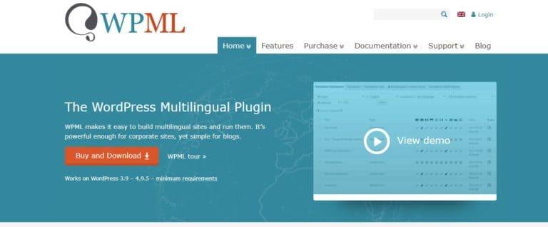 WPML - multilingual translation plugin