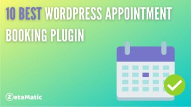 10 Best WordPress Appointment Booking Plugins