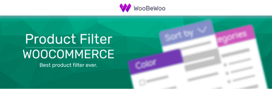 Product Filter WooBeWoo