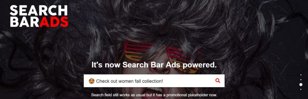 Search Bar Ads