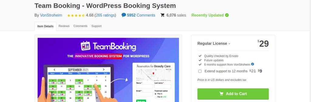 Team Booking