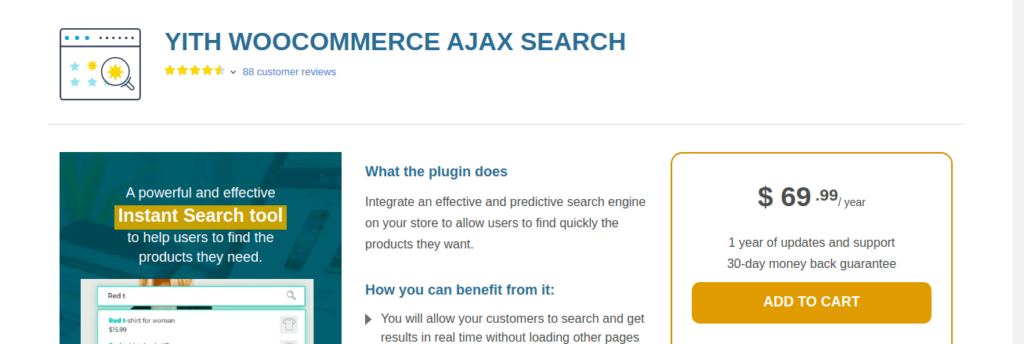 YITH WooCommerce Ajax Search (Premium)
