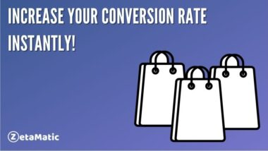 Increase Your Conversion Rate Instantly!