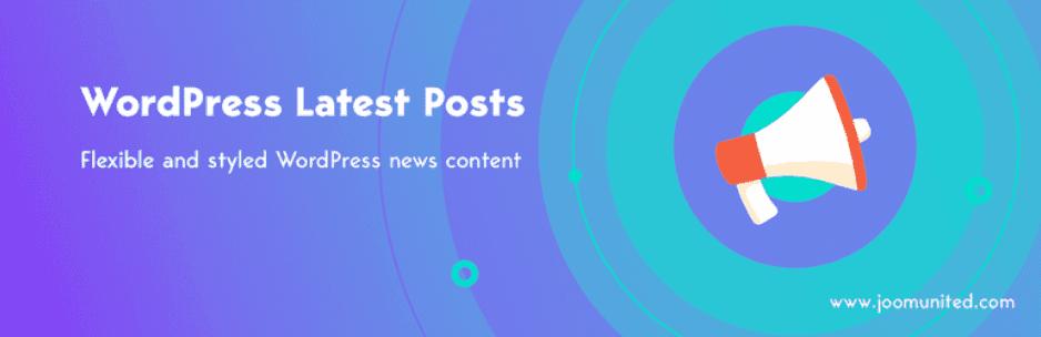 WP Latest Posts - WordPress News Plugin